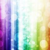 Fond coloré de lumière de bokeh photographie stock libre de droits
