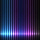 Fond coloré de lumières Images libres de droits