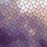 Fond coloré de mosaïque abstraite de vecteur Image libre de droits