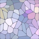 Fond coloré de mosaïque abstraite de vecteur Photo libre de droits