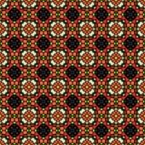 Fond coloré de mosaïque dans le style de kaléidoscope Images libres de droits