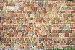 Fond coloré de mur de briques Photos stock
