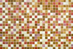 Fond coloré de mur de tuile Photo stock
