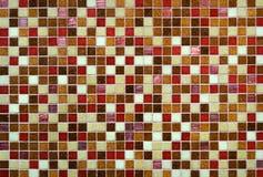 Fond coloré de mur de tuile Photos stock