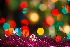 Fond coloré de Noël Images libres de droits