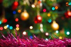 Fond coloré de Noël Photographie stock libre de droits