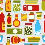Fond coloré de nourriture illustration de vecteur