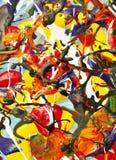 Fond coloré de peinture. Image stock
