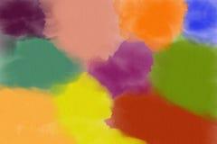 Fond coloré de peinture Photo stock