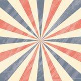 Fond coloré de rayon de soleil de cirque illustration libre de droits