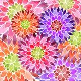 Fond coloré de ressort de fleur Images stock