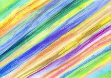 Fond coloré de retrait de craie illustration stock