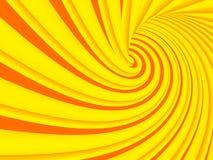 fond coloré de spirale d'illustration du résumé 3d Photo libre de droits