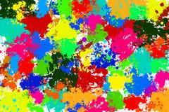 Fond coloré de tache Photos libres de droits