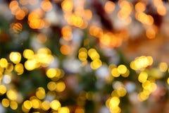 Fond coloré de tache floue de bokeh de lumières de couleur, Chrismas Image libre de droits