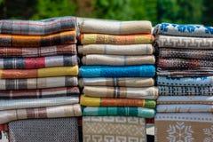 Fond coloré de textile photo stock