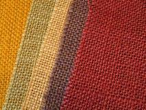 Fond coloré de textile de tissu Photographie stock libre de droits
