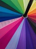 Fond coloré de texture de parapluie Photo libre de droits