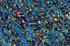 Fond coloré de tissu Photographie stock libre de droits