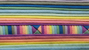 Fond coloré de tissu de tissu Photo libre de droits