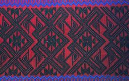 Fond coloré de tissu de tissu de batik Image libre de droits