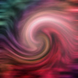 Fond coloré de tourbillonnement Images libres de droits