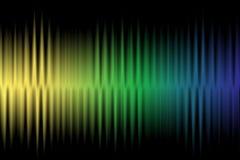 Fond coloré de vague images libres de droits