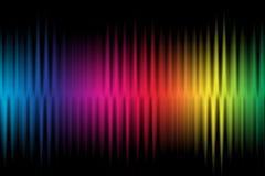 Fond coloré de vague photos libres de droits