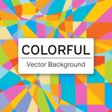 Fond coloré de vecteur Photos libres de droits