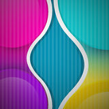 Fond coloré de vecteur abstrait Photographie stock