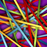 Fond coloré de vecteur de pistes Images libres de droits