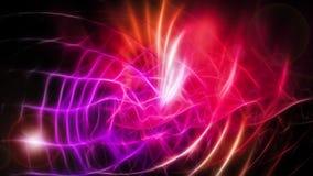 Fond coloré doux et onduleux abstrait Image stock