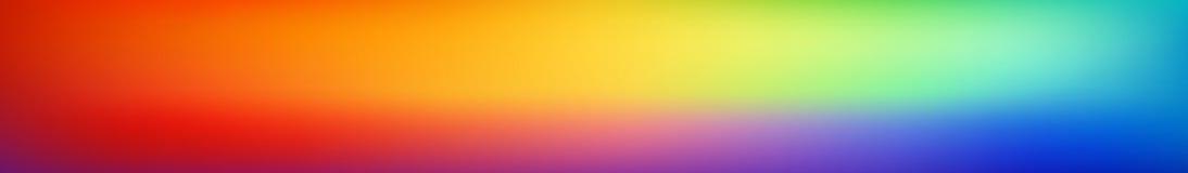 Fond coloré doux et trouble panoramique de maille de gradient Vue horizontale pour panneaux en verre - skinali Arc-en-ciel lumine illustration libre de droits