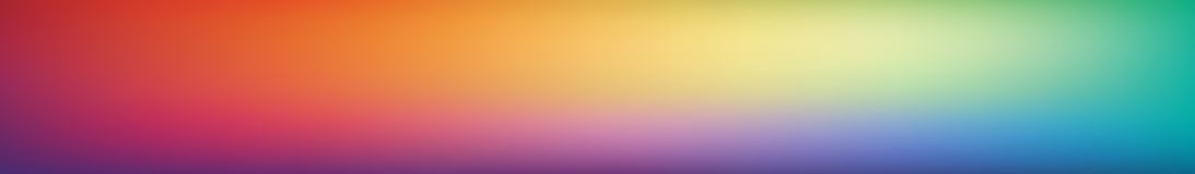 Fond coloré doux et trouble panoramique de maille de gradient Vue horizontale pour panneaux en verre - skinali Arc-en-ciel lumine illustration stock