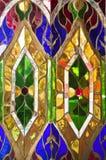 Fond coloré en verre souillé photo libre de droits