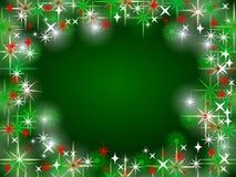 Fond coloré et brillant de Noël Images libres de droits
