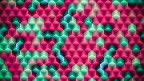 Fond coloré fait de cubes Photos libres de droits