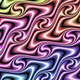 Fond coloré farfelu illustration stock