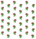 Fond coloré floral de modèle Images stock