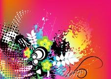 Fond coloré grunge Photographie stock