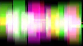 Fond coloré 4K de mouvement linéaire banque de vidéos