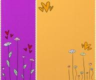 Fond coloré mignon Image libre de droits