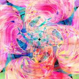 Fond coloré par abstrait Images stock