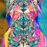 Fond coloré par abstrait Photos stock