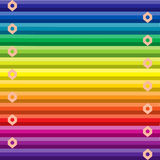 Fond coloré par arc-en-ciel Image libre de droits