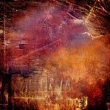 Fond coloré par résumé Image libre de droits