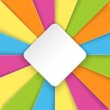 Fond coloré rayé avec l'endroit pour le texte Image libre de droits