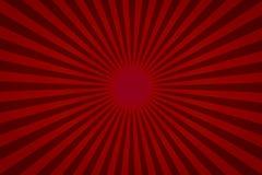 Fond coloré rouge de rayon pour le produit b de calibre et de bannière illustration stock