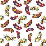 Fond coloré sans couture avec des flèches illustration libre de droits