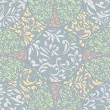 Fond coloré sans couture avec l'ornement abstrait Image libre de droits